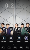 Screenshot of WINNER 2014 S/S dodol theme