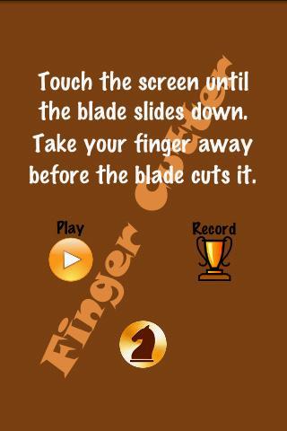 手指切割机