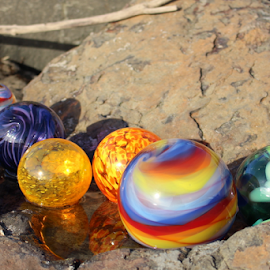 Glass Floats by Vonelle Swanson - Artistic Objects Glass