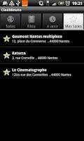 Screenshot of CineMinute