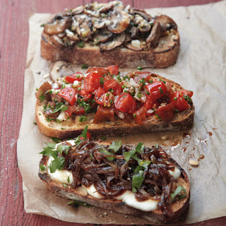 Bruschetta with Three Toppings
