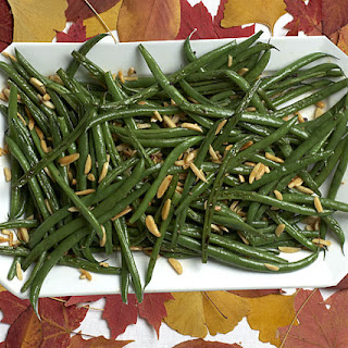 Green Beans with Almonds and Garlic