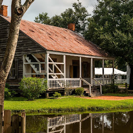 Acadian Village, Home by Sheldon Anderson - Buildings & Architecture Public & Historical ( cajun, life, louisiana, rural life, historical, country life, acadian village, homes, antique )