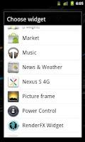 Screenshot of Nexus S 4G Widget