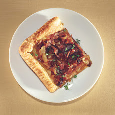 Honey-Roasted Onion Tart