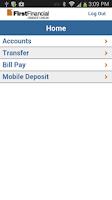 Screenshot of First Financial CU