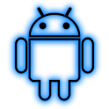 GloWorks Blue ADW Theme icon