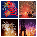 HD Fireworks Wallpaper icon