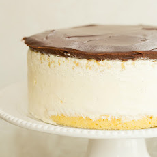 Double Vanilla Ice Cream Cake