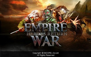 Screenshot of Empire War Heroes Return