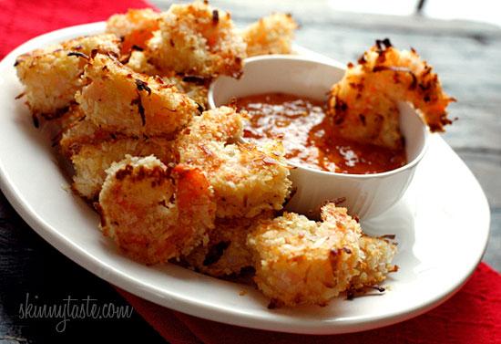skinny coconut shrimp from skinnytaste added by patrice 2k