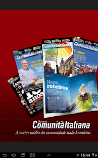 Revista Comunita Italiana - screenshot