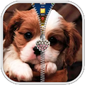Puppy Zipper Lock Screen APK for Bluestacks