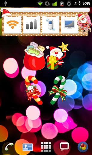 Christmas StickerWidget Fourth