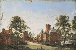 RIJKS: manner of Jan van der Heyden: painting 1750