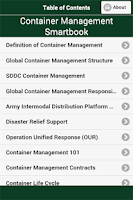 Screenshot of Container Mgmt Smartbook