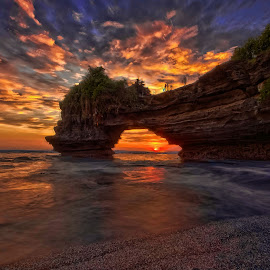 @ Batu Bolong 1 by Rientje Maya - Landscapes Sunsets & Sunrises