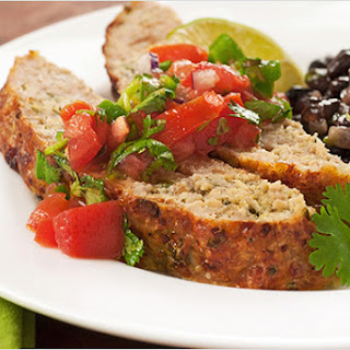 Green Chile Turkey Meatloaf