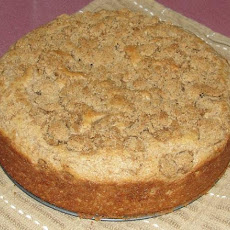 Whole Wheat Old World Cinnamon Crumb Coffe Cake