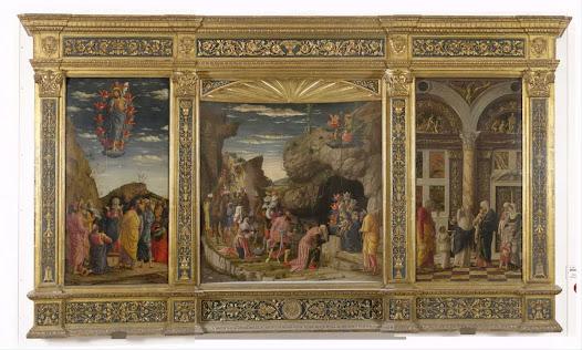 Mantegna Andrea, Trittico