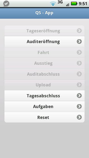 qsApp Auditing Customer Tool