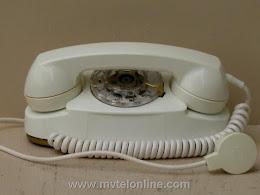 Desk Phones - Western Electric 702B White Pirncess 1