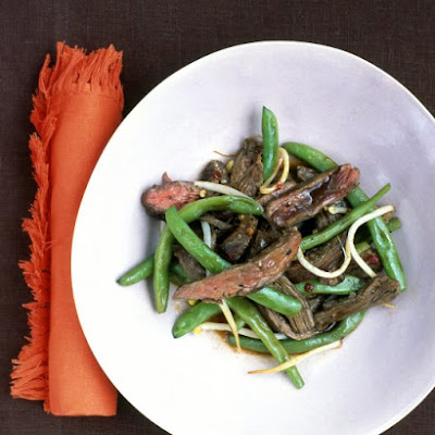 Soy-Glazed Beef and Green Beans