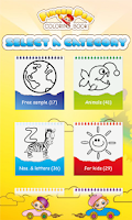 Screenshot of FingerPen 300+ coloring books