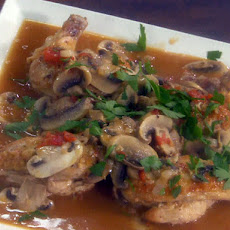 Pan-Roasted Chicken Breasts with a Chasseur Sauce