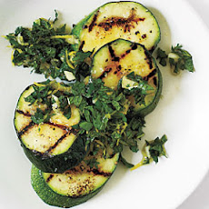 Mint Gremolata Zucchini with Sea Salt