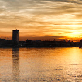 Osijek by Zoran Osijek - Landscapes Sunsets & Sunrises ( sunset )