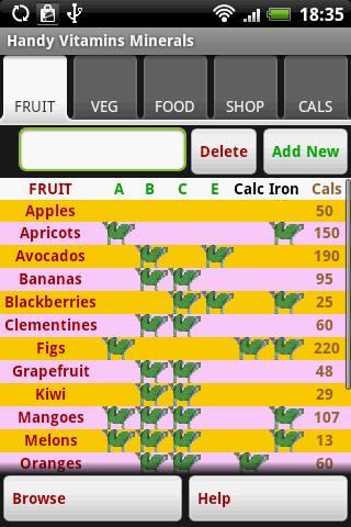 Handy Vitamins Minerals