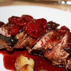 Duck Breasts With Apples And Caraway