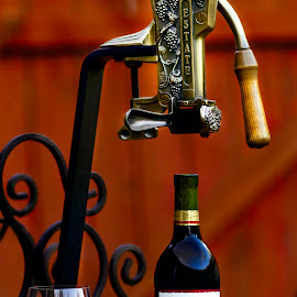 After the Harvest by Candee Watson - Food & Drink Alcohol & Drinks ( wine, fruit, wood, vintage, grapes, drink, bottle, iron )