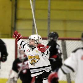 persistence=success! by Shandea Patras - Sports & Fitness Ice hockey