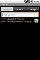 Screenshot of Silent SMS