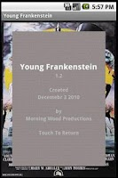 Screenshot of Young Frankenstein Sound Board