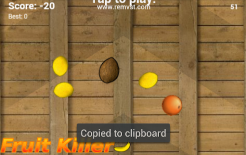 Fruit Slicer - screenshot
