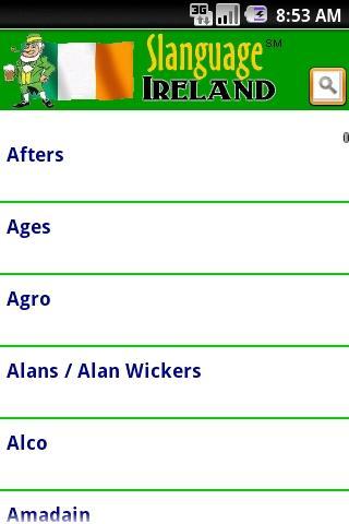 Slanguage Ireland