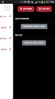 Screenshot of City National Bank Mobile