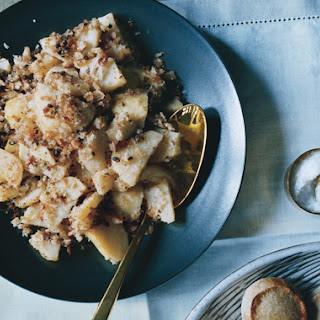 Golden Potatoes with Caper Brown-Butter Crumbs
