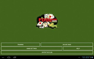 Screenshot of Russian Fool Card Game HD Free