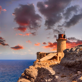 the old lighthouse by George Paximadakis - Buildings & Architecture Decaying & Abandoned