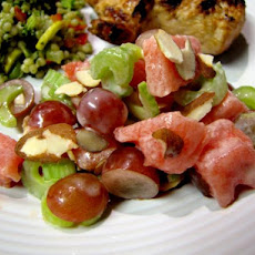 Summertime Watermelon Waldorf Salad