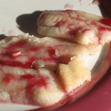 Halibut, Grilled, With Red Currant Garlic Sauce