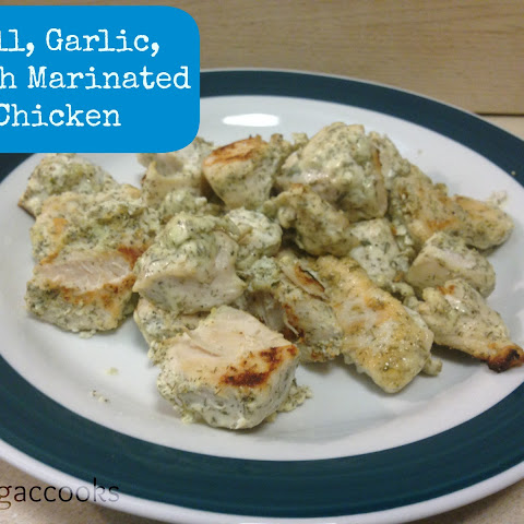 Dill, Garlic, Ranch Marinated Chicken