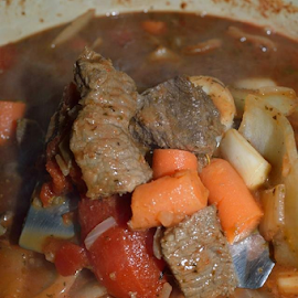 Venison Stew by Christine Melton - Food & Drink Meats & Cheeses ( stew, venison, food, meat, christine, Food & Beverage, meal, Eat & Drink )