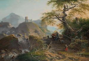 RIJKS: Gerard van Nijmegen: Mountainous Landscape near Düsseldorf 1790