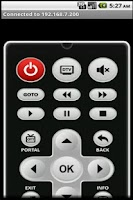Screenshot of Smart Remote Control