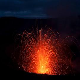 Mt Yasur by Melissa Ovedia - Landscapes Travel ( vanuatu, volcano, nature, mt. yasur, landscape, tanna )